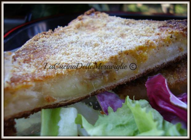 Mozzarella in carrozza al forno_2
